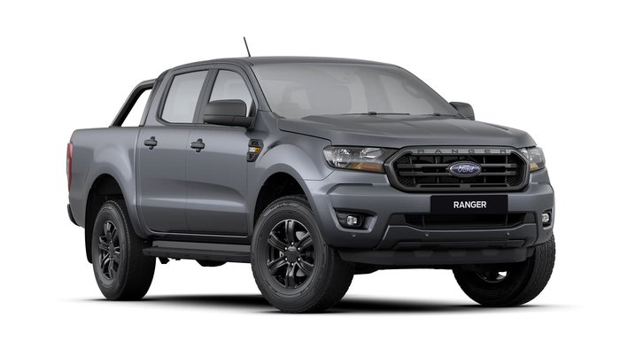 2020 Ford Ranger Sport PX MkIII MY20.25 4X4 Dual Range Meteor Grey