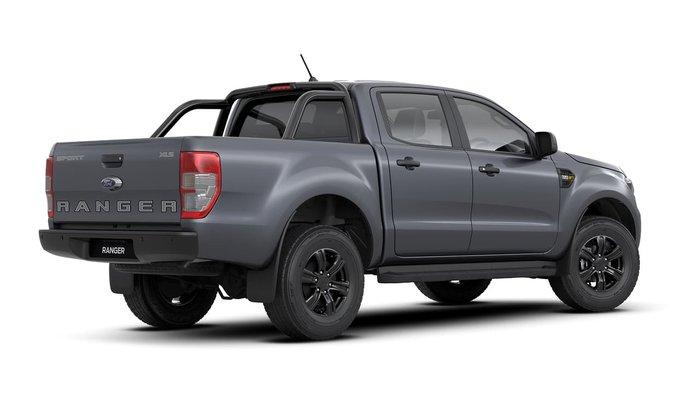 2020 Ford Ranger Sport PX MkIII MY20.25 4X4 Dual Range Meteor Grey