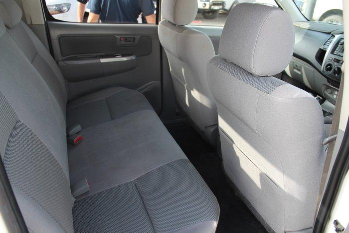 2010 Toyota Hilux SR5 KUN26R MY10 4X4 White