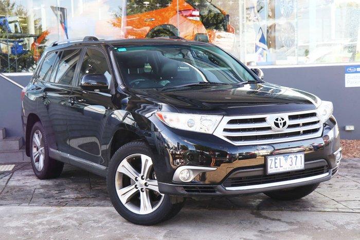 2012 Toyota Kluger KX-S GSU40R MY12 Black