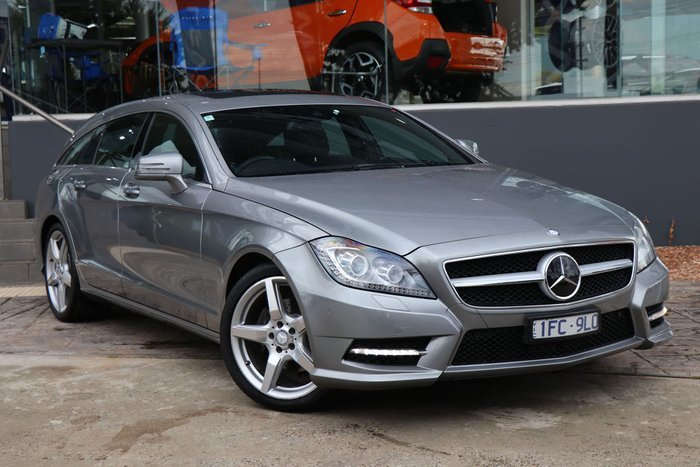 2013 Mercedes-Benz CLS-Class CLS250 CDI BlueEFFICIENCY X218 Grey