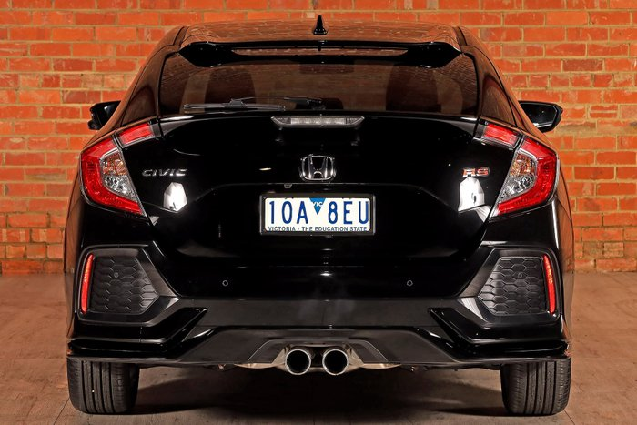 2018 Honda Civic RS 10th Gen MY18 Black