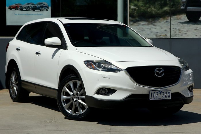 2014 Mazda CX-9 Grand Touring TB Series 5 4X4 On Demand White