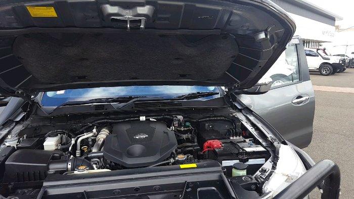 2017 Nissan Navara ST-X D23 Series 3 4X4 Dual Range GRAPHITE