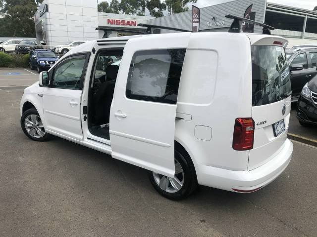 2016 Volkswagen Caddy TSI220 2KN MY16 CANDY WHITE
