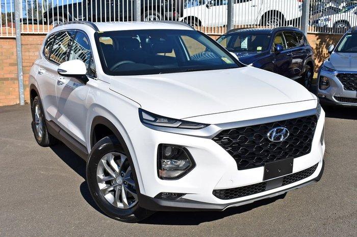 2019 Hyundai Santa Fe Active TM.2 MY20 4X4 On Demand White