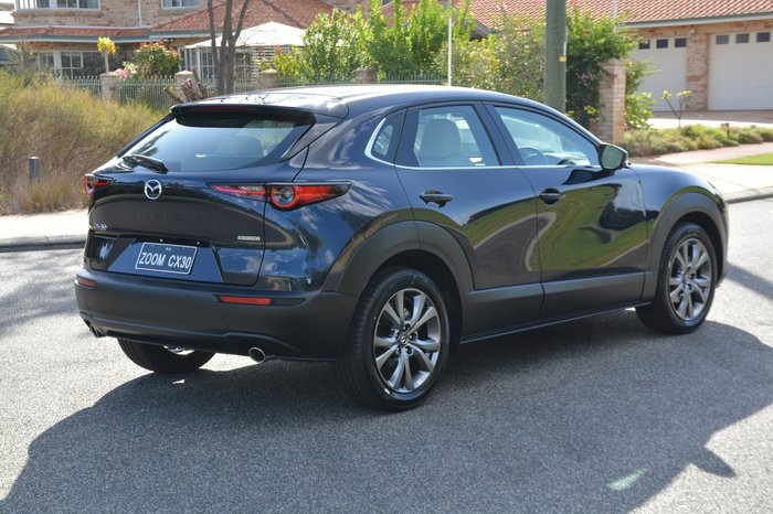 2019 Mazda CX-30 G20 Astina DM Series Blue