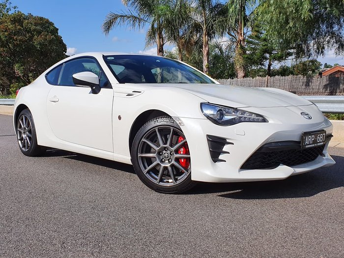 2017 Toyota 86 Limited Edition ZN6 White