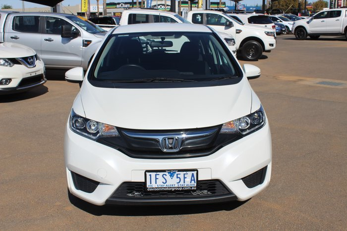 2015 Honda Jazz VTi GF MY15 White