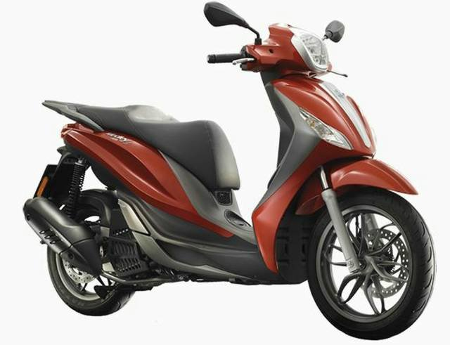 2019 PIAGGIO MEDLEY 150 S SCOOTER RED