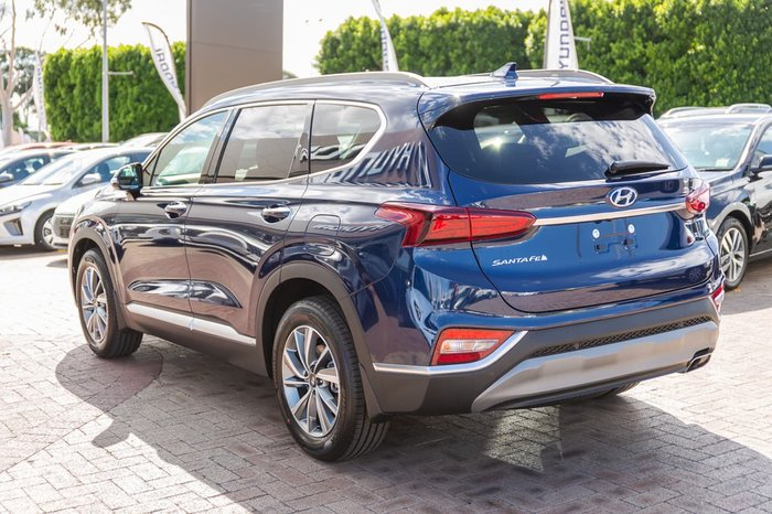 2020 Hyundai Santa Fe Elite TM.2 MY20 Blue