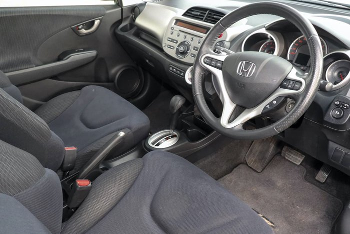 2012 Honda Jazz VTi-S GE MY12 Black