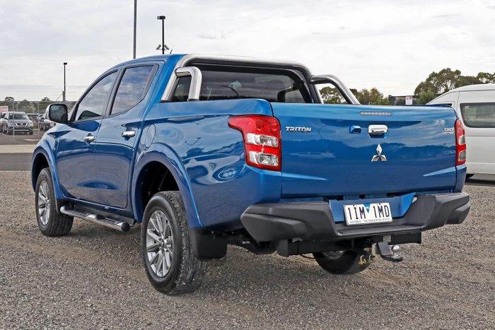 2015 Mitsubishi Triton GLS MQ MY16 4X4 Dual Range Blue