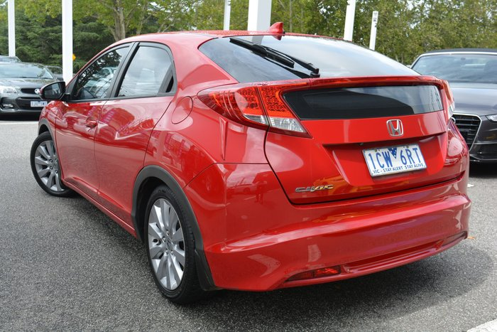 2014 Honda Civic DTi-S 9th Gen MY14 Red