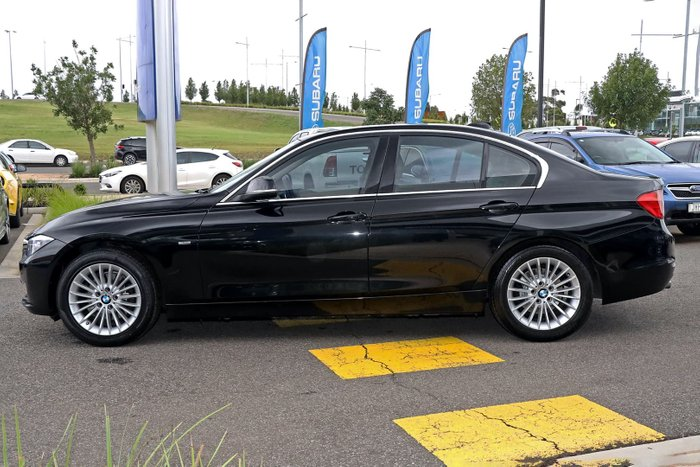 2014 BMW 3 Series 320d Luxury Line F30 Black