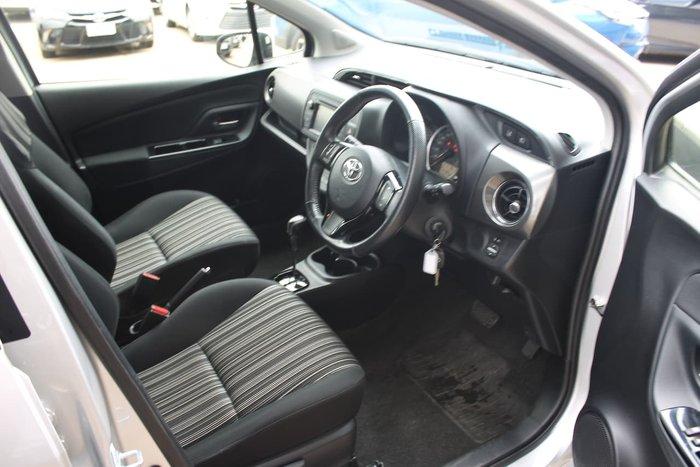 2017 Toyota Yaris ZR NCP131R Silver