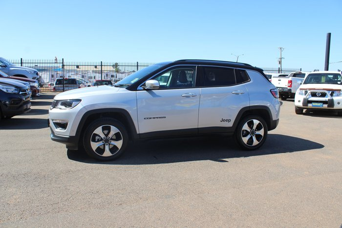 2017 Jeep Compass Limited M6 MY18 4X4 On Demand Grey