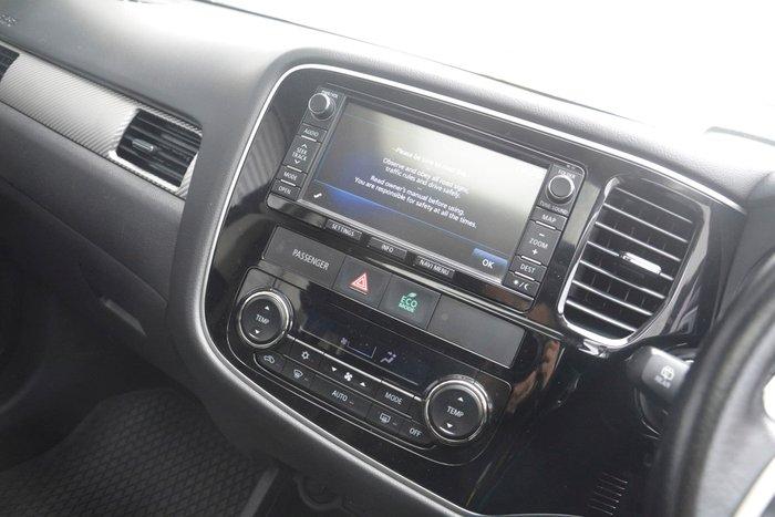 2013 Mitsubishi Outlander Aspire ZJ MY14 4X4 On Demand Grey