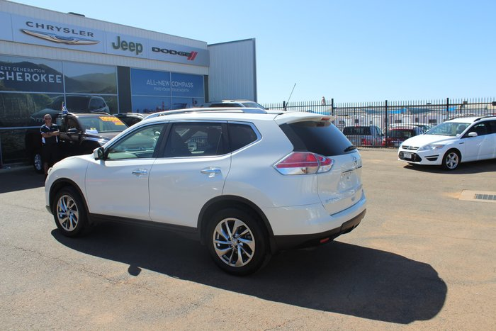 2014 Nissan X-TRAIL TL T32 White