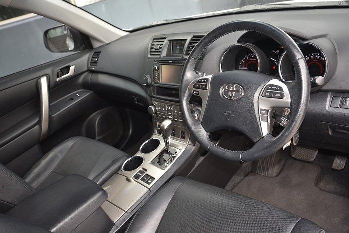 2013 Toyota Kluger KX-S GSU45R Four Wheel Drive White