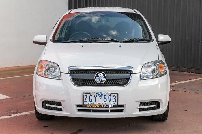 2011 Holden Barina TK MY11 White
