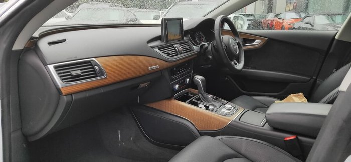 2016 Audi A7 S Line 4G MY16 Four Wheel Drive White