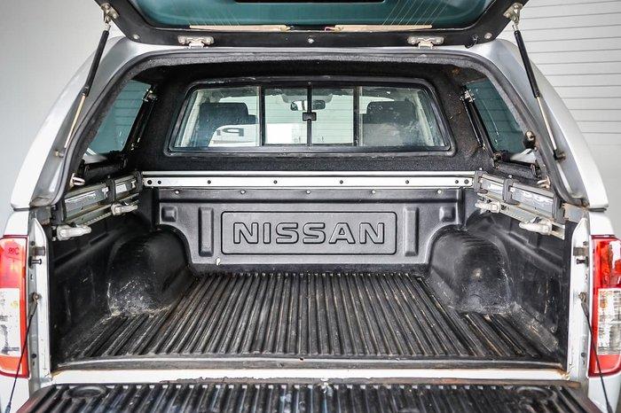 2011 Nissan Navara ST D40 4X4 Silver