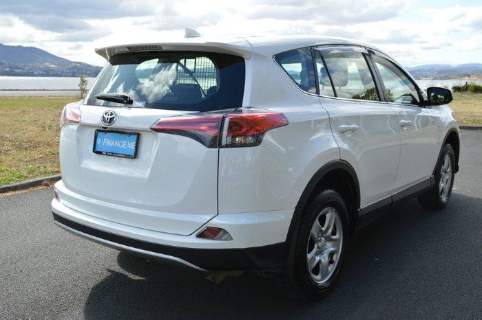 2018 Toyota RAV4 GX ASA44R 4X4 On Demand WHITE