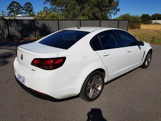 2016 Holden Commodore Evoke VF Series II MY16 WHITE