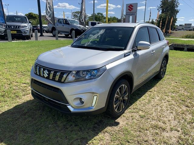 2019 Suzuki Vitara Turbo LY Series II silver