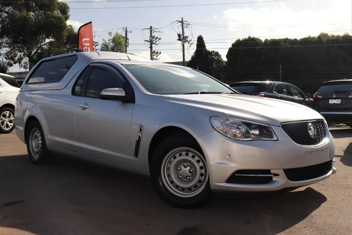 2017 Holden Ute VF Series II MY17 Silver