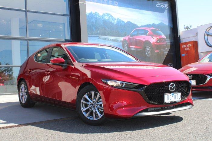 2019 Mazda 3 G20 Pure BP Series Red