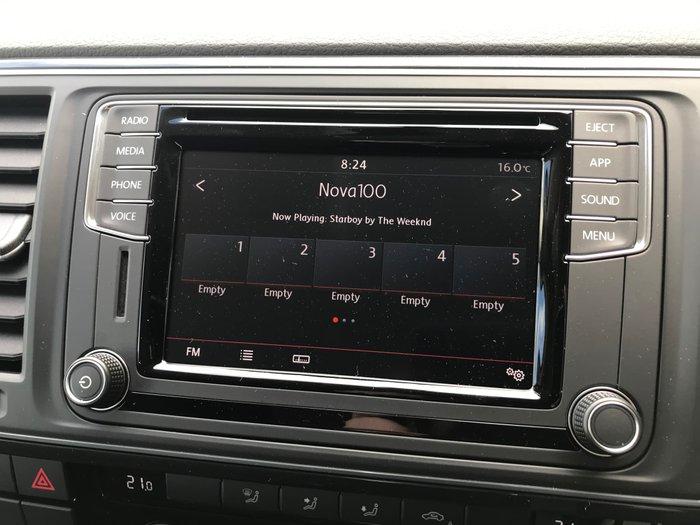 2019 Volkswagen Multivan TDI340 Comfortline T6 MY19 Black