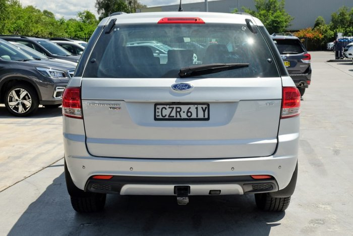 2014 Ford Territory TS SZ Silver