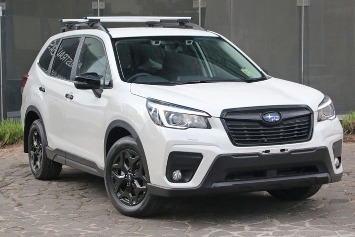 2019 Subaru Forester 2.5i S5 MY20 Four Wheel Drive White