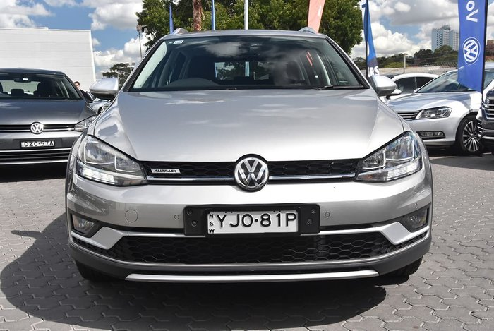 2018 Volkswagen Golf Alltrack 132TSI 7.5 MY18 Four Wheel Drive Silver