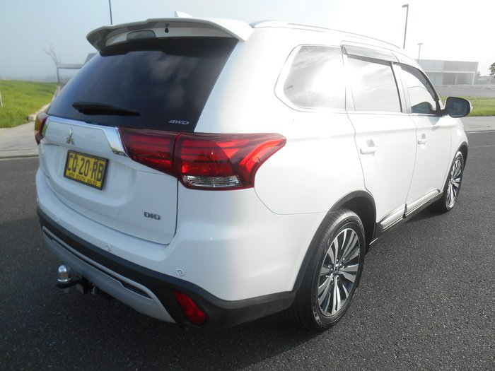 2018 Mitsubishi Outlander LS ZL MY18.5 4X4 On Demand White