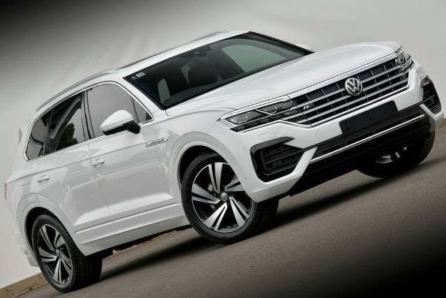 2020 Volkswagen Touareg 190TDI Premium CR MY20 Four Wheel Drive PURE WHITE