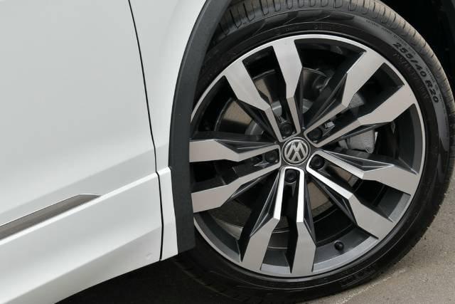2020 Volkswagen Tiguan 162TSI Highline Allspace 5N MY20 Four Wheel Drive PURE WHITE