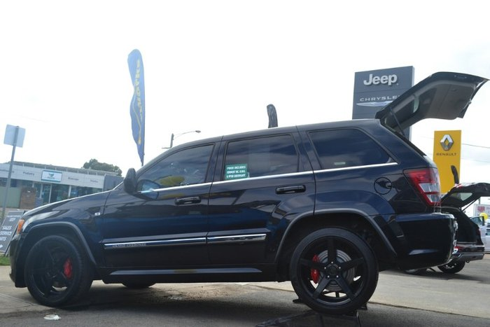 2010 Jeep Grand Cherokee SRT-8 WH MY10 4X4 Dual Range BRILLIANT BLACK