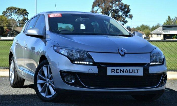 2013 Renault Megane Privilege III B32 MY12 SILVER