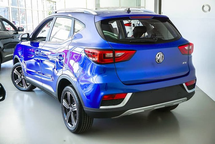 2019 MG ZS Excite Plus AZS1 MY19 Blue