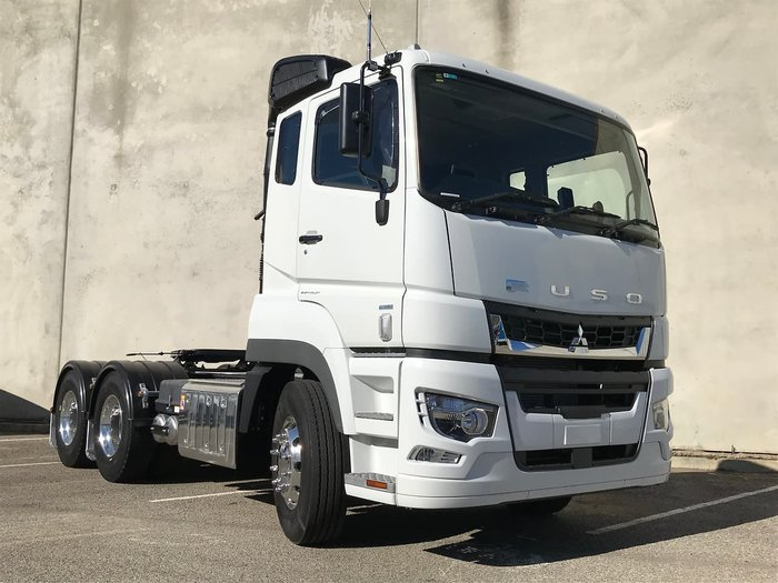 2020 FUSO SHOGUN 455HP - 12SP AMT/AIR SUSP. PRIME MOVER DEMO White