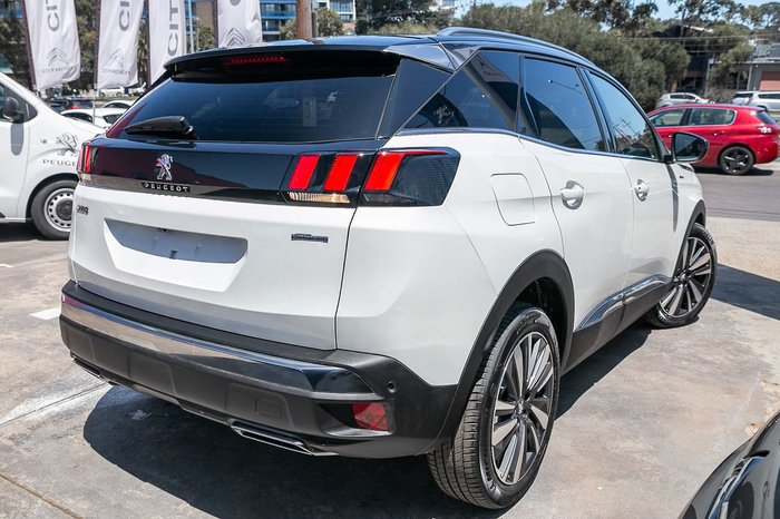 2020 Peugeot 3008 GT Line P84 MY20 White