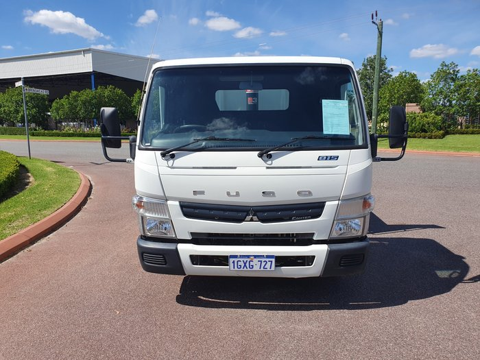 2013 Fuso Canter 815 Wide TIPPER WHITE