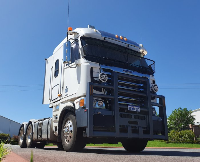 2012 Freightliner Argosy LOW ROOF WHITE