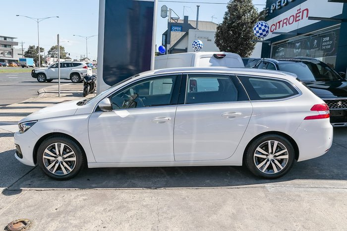 2019 Peugeot 308 Allure T9 MY20 White
