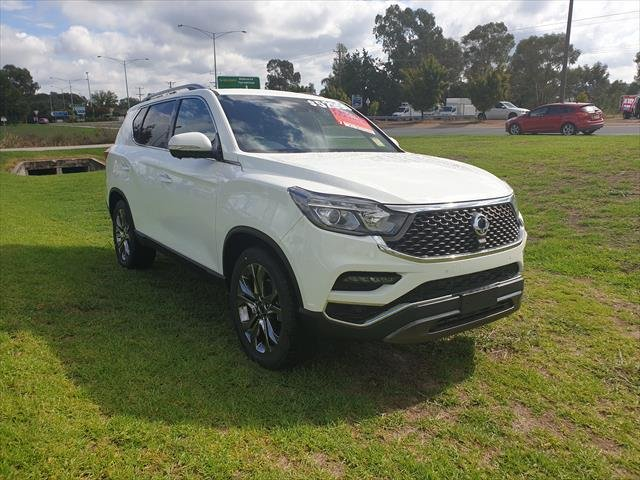 2019 SSANGYONG REXTON ULTIMATE Rexton Ultimate 2.2L Turbo Diesel 4WD 7AT (Black leather) Grand White