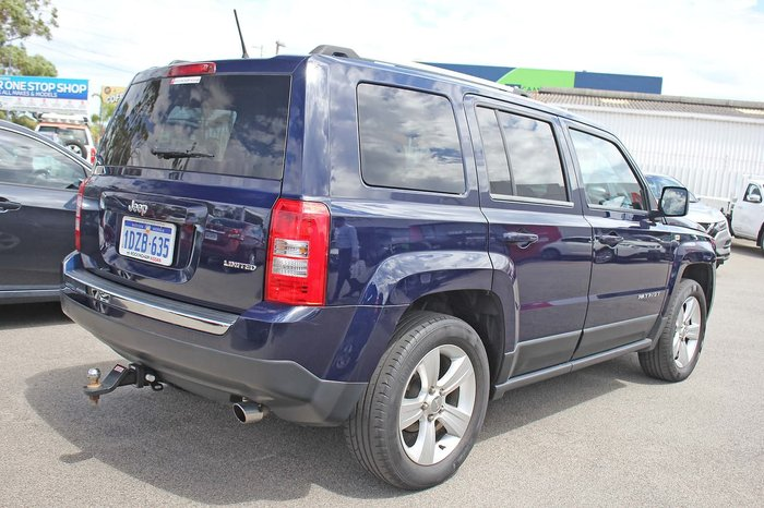 2012 Jeep Patriot Limited MK MY12 4X4 On Demand Blue