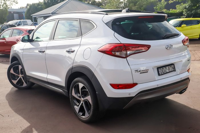 2016 Hyundai Tucson Highlander TLe 4X4 On Demand White